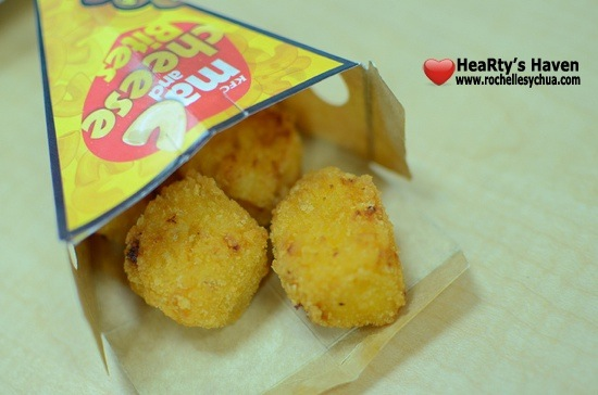 KFC Mac & Cheese Bites Contents