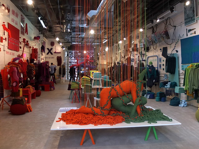 "Benetton ""The Art of Knit"" Pop Up, Crosby St, NY"