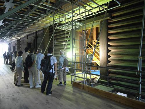 特別公開『正倉院正倉』工事現場を見学してきました