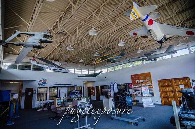 Museum of Flight Restoration Center Entrance