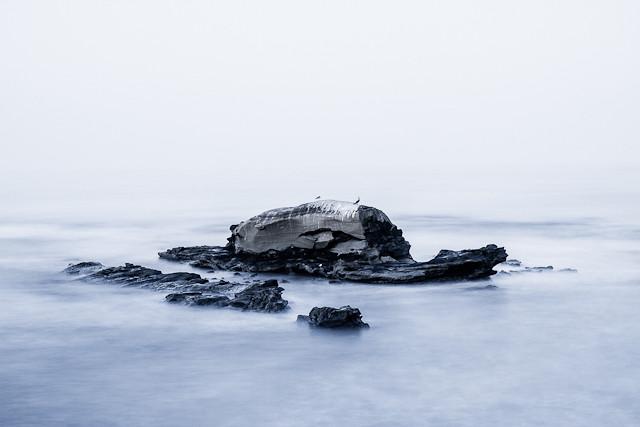 Bird Rock and Windansea at Sunrise 93012 © Michael Klayman-003