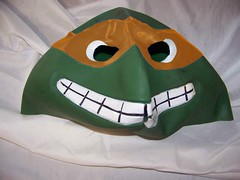 Vintage Ninja Turtle Halloween Mask