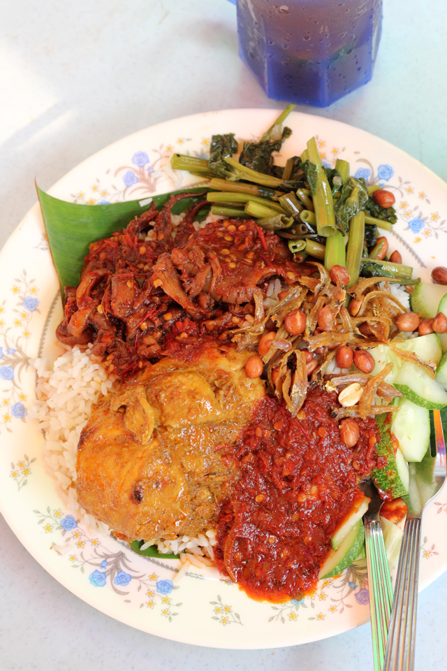 Can you really beat a plate of nasi lemak?