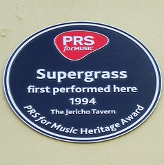 Photo of Supergrass blue plaque