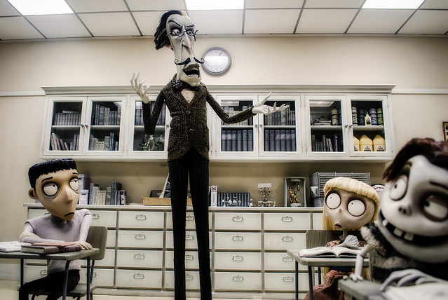 The Art Of Frankenweenie:  Part 1