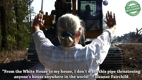 Eleanor Fairchild Defending Her Farm From Keystone XL