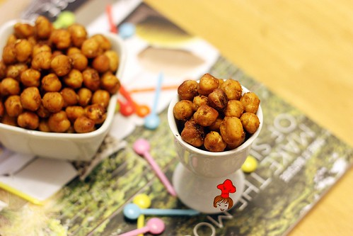 oven baked chickpeas 1