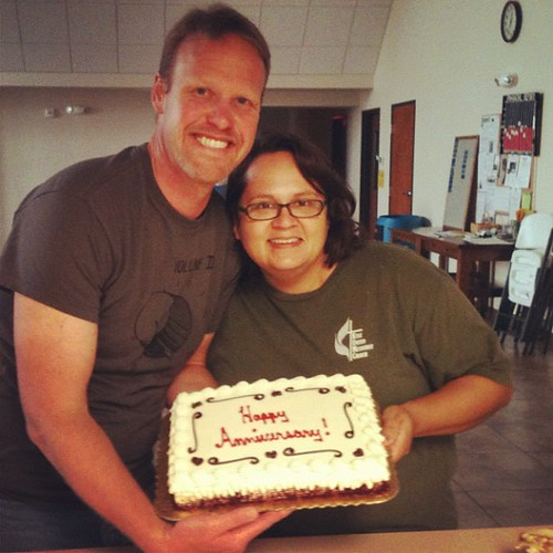 Church family is awesome... Got us a cake! by seanclaes