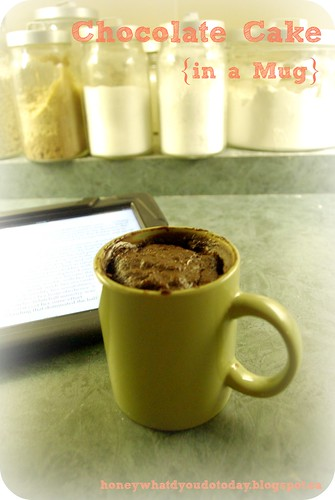 Chocolate Cake in a mug by SashaWarner