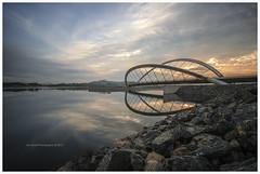 Bridge at Main Dam, Putrajaya, MALAYSIA