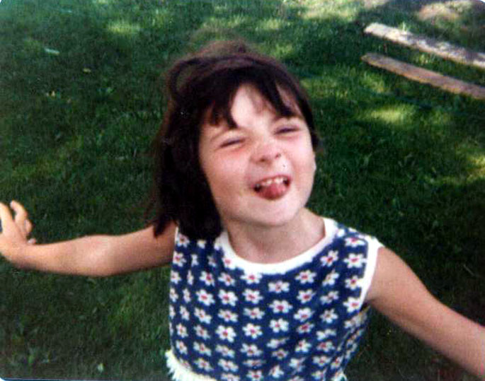 Catherine aged 4