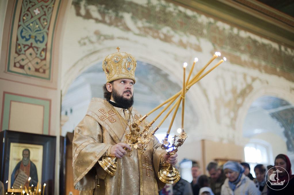 Епископ Гатчинский Амвросий, ректор Санкт-Петербургской Духовной Академии и Семинарии