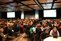 Keynote crowd at ULearn12