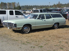 1971 Meteor Rideau 500 Station Wagon - only 1225 made