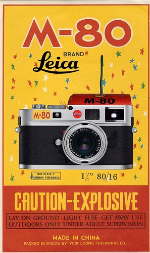LEICA M-80 by Colonel Flick