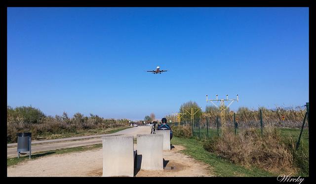 Que hacer en El Prat de Llobregat - Mirador de aviones