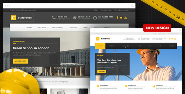 BuildPress v4.2.1 - Construction Business WP Theme