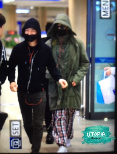 Big Bang - Incheon Airport - 10apr2015 - TOP - Utopia - 02