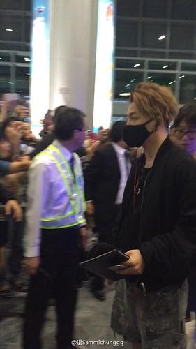 BIGBANG departure Macao to Seoul 2015-10-26 退Sammichunggg