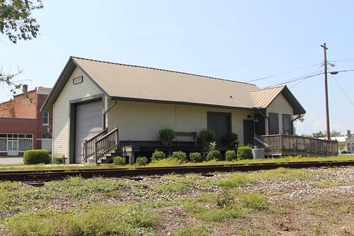 montgomerycounty 2016 depot cityhall firestation railtracks ailey georgia