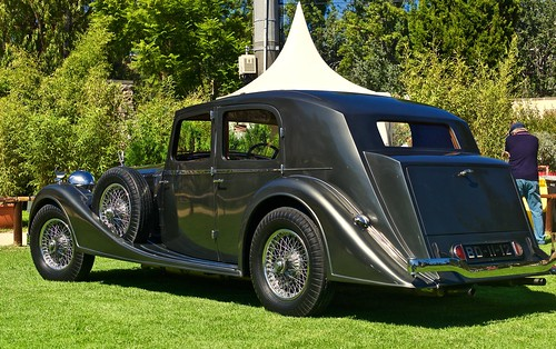 Alvis Mayfair bodied saloon