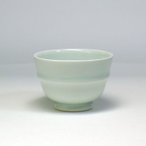 砥部焼 竹山窯「青磁湯呑み」