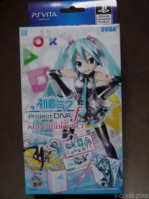 初音ミク Project DIVA f アクセサリーセット