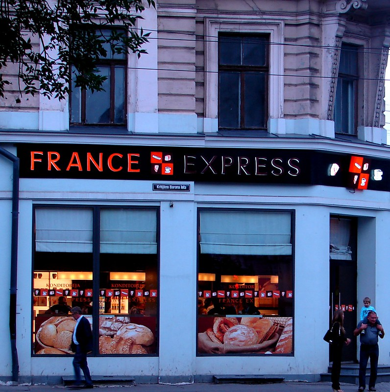 FRANCE EXPRESS. A new chain in Riga. by aigarsbruvelis