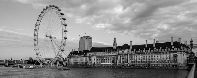 London Eye + County Hall