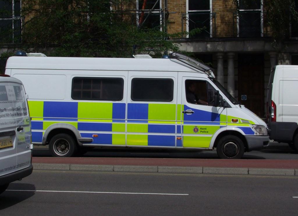 Kent Police Sprinter POV