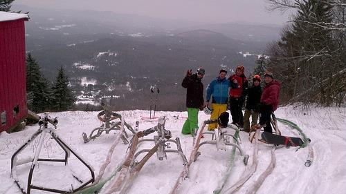 Magic Mt. snowmaking