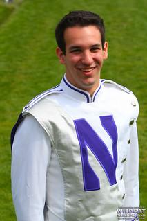 Drum Major Michael San Gabino