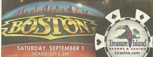 09/01/12 Boston @ Treasure Island Casino, Welch, MN