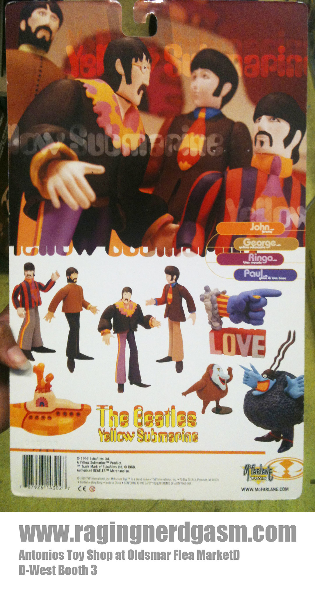 Mc Farlane ToysThe Beatles Yellow Submarine 009