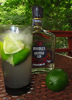 At summer's end: Gin Rickey