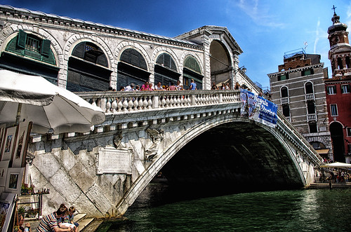 Italy Venice Rialto Bridge /2/ August 2012