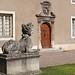 Dans la cour du palais des Ducs de Lorraine (Nancy) ©dalbera