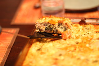 Roasted Vegetable Bread Pudding 2