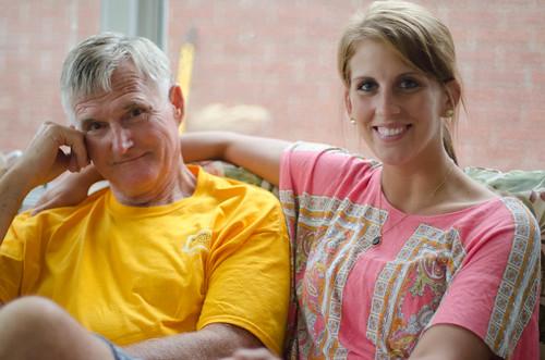 Ashley and Grandpa