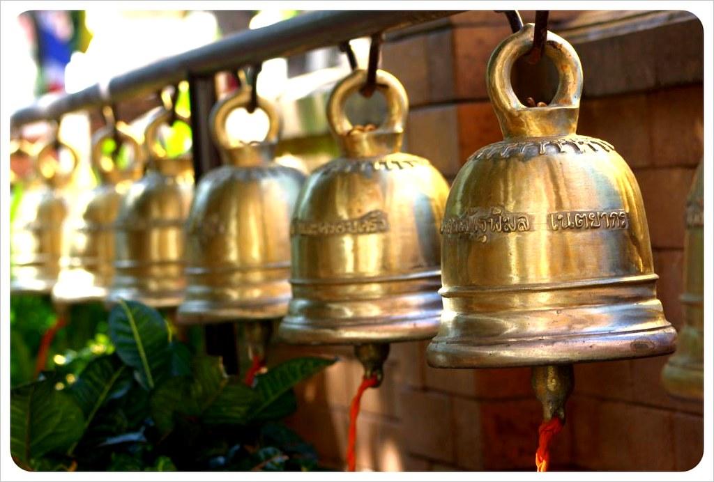 chiang mai temple bells