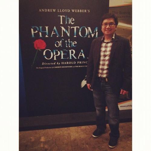 Phantom of the Opera last Aug 28
