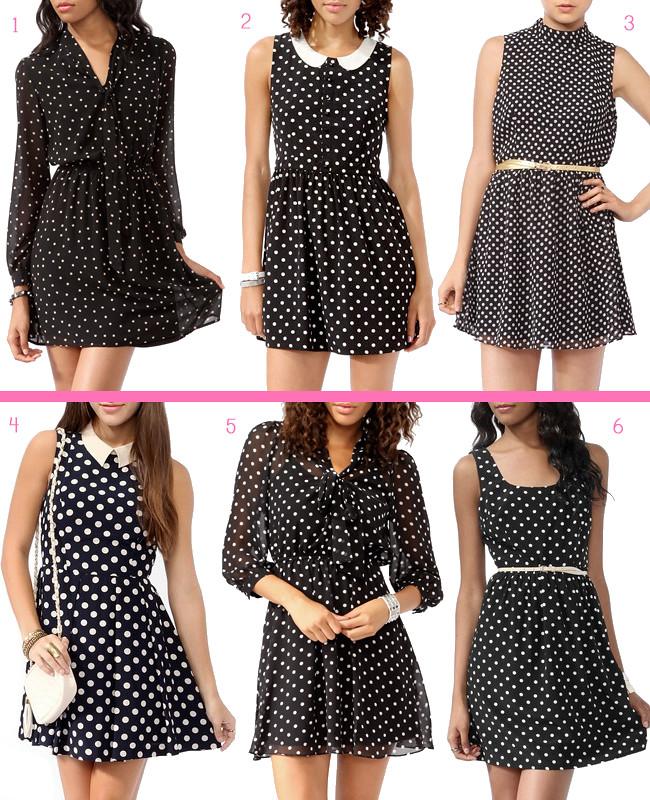 Forever21 Polka Dot Dresses