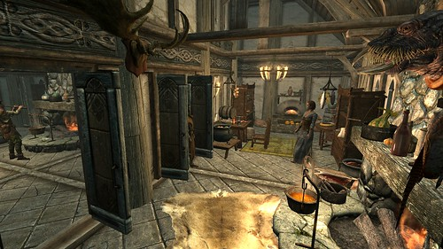 how to build a house in dawnstar