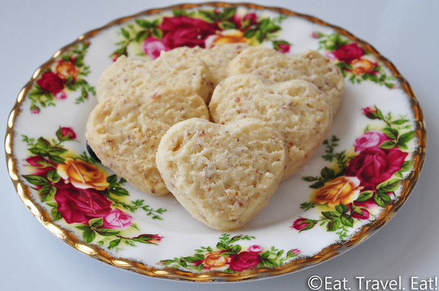 Trader Joe's Lemon Heart Cookies: Close-Up