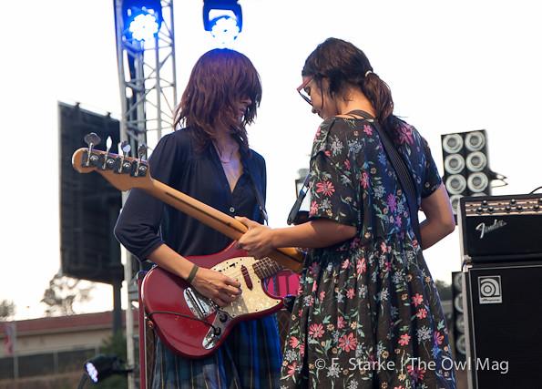 Warpaint @ FYF Fest 2012, Day 1