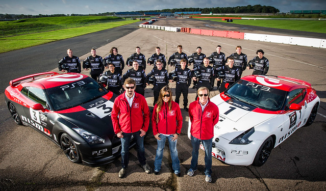 GT Academy 2012 at Silverstone