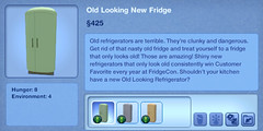 Old looking New Fridge