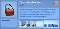 Twigs-n-Sticks Easy Chair