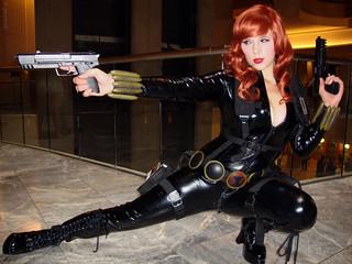 deadly Black Widow