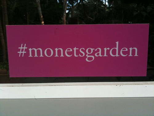 The NY Botanical Garden's Monet's Garden Exhibit